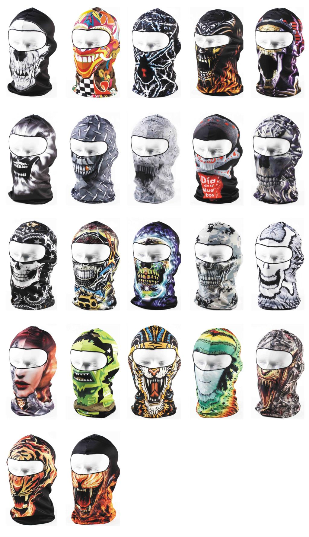 Women Men 3D Animal Active Outdoor Sports Hat Bicycle Cycling Motorcycle Masks Ski Hood Hat Veil Balaclava Full Face Mask от Aliexpress INT