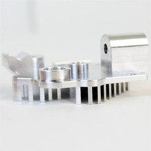 Blurolls Titan Aero Heatsink (1.75mm or 2.85mm) upgrade Titan extruder V6 hotend Reprap Prusa 3D printer spare parts