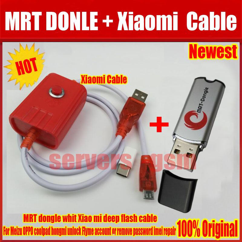 NEW MRT Dongle For OPPO coolpad hongmi unlock Flyme account or remove password imei repair Fully activate version