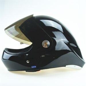 EN966 GD E анфас парапланеризм шлем черный оптом длинные доски шлем