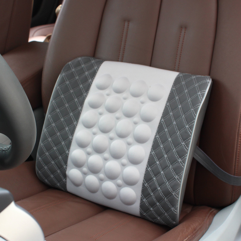 Elektrikli masaj lomber yastığı avtomobili ikiqat təyinatlı, - Avtomobil daxili aksesuarları - Fotoqrafiya 6