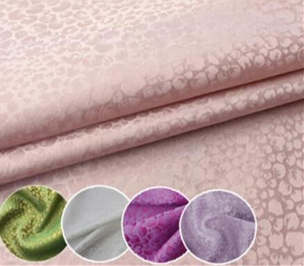 100% pure mulberry Silk Soft Satin Heavy crepe jacquard silk fabrics DIY Dressmaking Skirt materials clothes Silk 5 Yards I110 gold jade objects and silk fabrics 50g