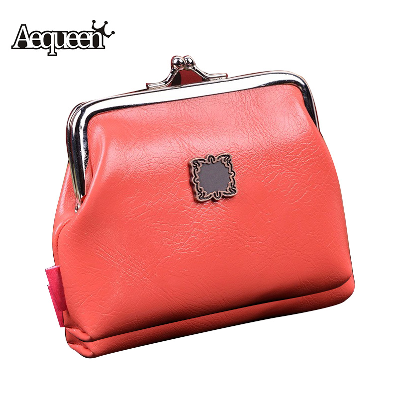 Women Coin Purses Pu Leather Mini Change Wallets Cute ...