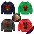 Christmas costume for boys children fleece Sweater Shirt winter Christmas Sweaters Shirt children christmas sweater KC007
