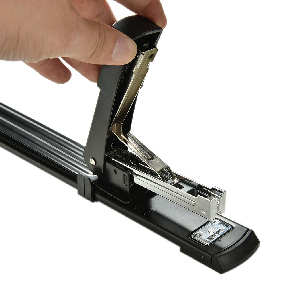 Professional Make Book Repair Book Stapler Long Arm Stapler Binding Machine Manual Metal Stapler School Office Supply 1PC manual hot glue book binding binder machine