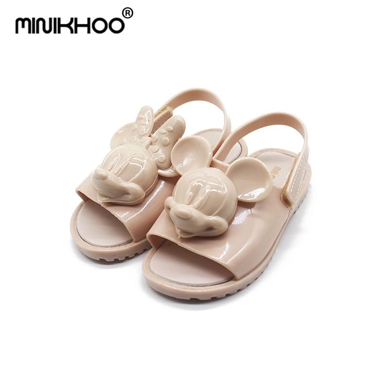 b570f50b17a Μίνι Melissa 2018 Νέο 3D Mickey Jelly Sandals Παιδικά Σανδάλια ...