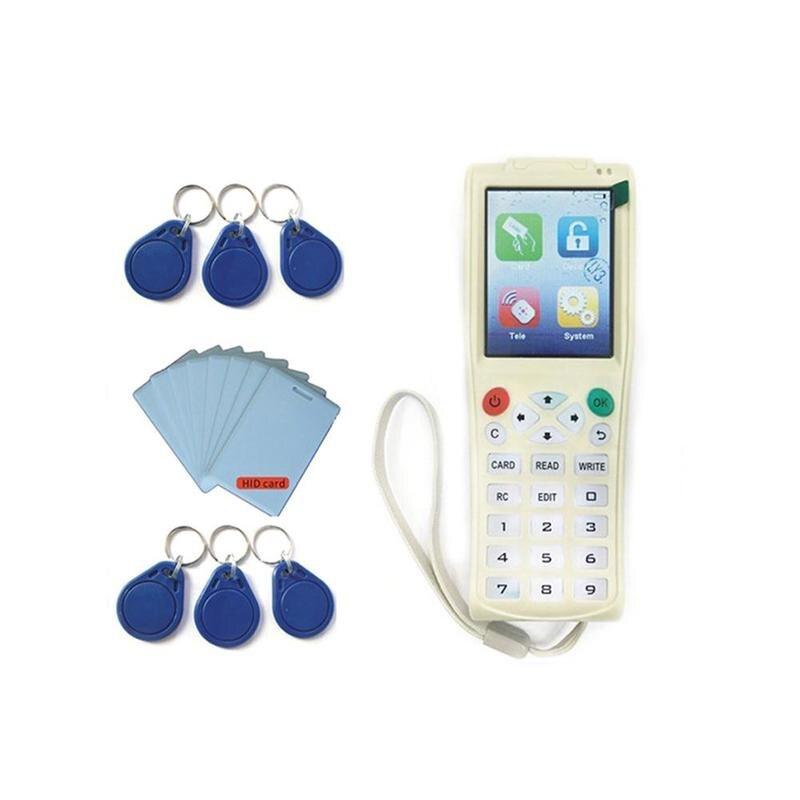Inglese Versione Più Recente di iCopy 3 con Funzione di Decodifica Completa di Smart Card Chiave Macchina RFID NFC Copiatrice IC ID Reader Writer duplicatore