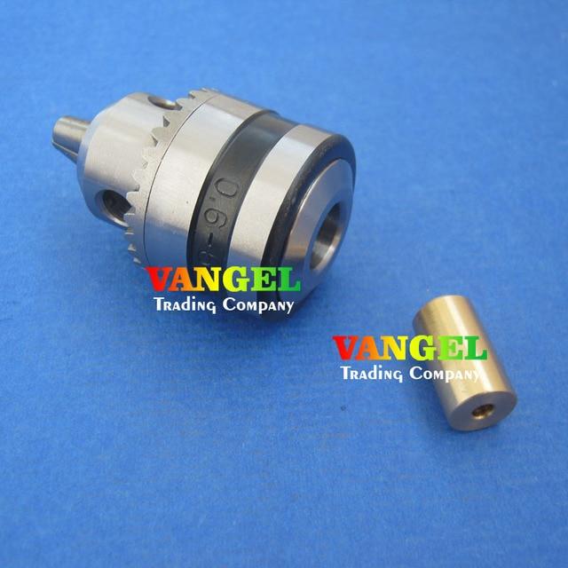 Applicable to motor shaft diameter 3.2mm/4mm/5mm/6mm/6.35mm/7mm/8mm  mini drill chuck 0.6-6mm B10 for drill press mini drill