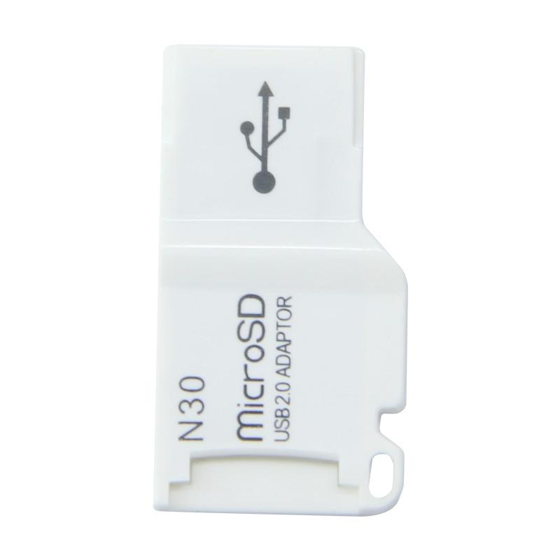 Mini Maat High Speed Usb 2.0 Micro Sd Sdxc Tf T-flash Geheugenkaart Adapter Geheugenkaartlezer Een Onmisbare Soevereine Remedie Voor Thuis