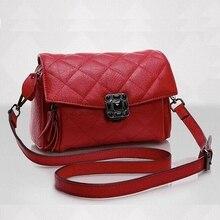 Genuine Leather summer Bag New Women leather Handbags Famous Brand women messenger Bags Ladies Shoulder Bag Bolsos 2016 LI-1067