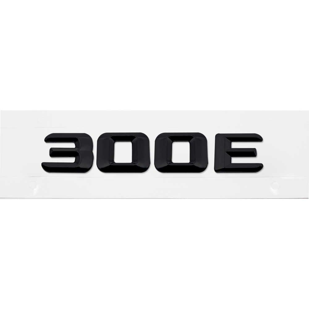 トランクリアエンブレムバッジ手紙車のステッカーメルセデスベンツ 230E 300E 300SE W204 W203 W211 W210 W212 W205 cla Gla Glc