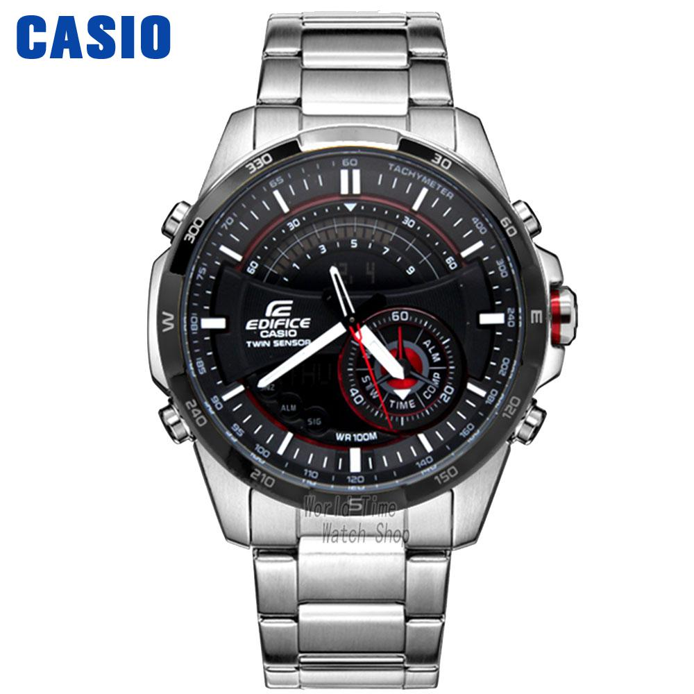 Casio Watch Metal Series Multifunctional Business Waterproof Male Watch ERA-200DB-1A ERA-200DB-1A9 ERA-300DB-1A ERA-300DB-1A2 casio era 200dc 1a2