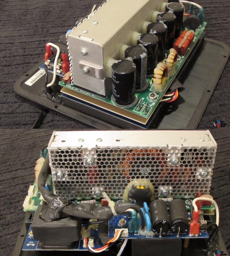 Digital Audio Power Amplifier Board TMS320 C2000 Class D 1000W RMS  Subwoofer for iPod PC