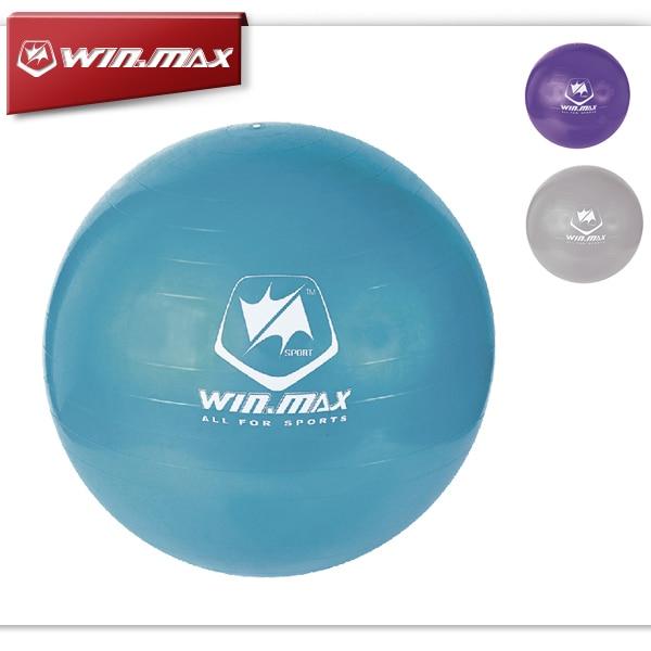 2016 Winmax Hot Style 75cm Exercise Workout Fitness Gym Yoga Anti Burst Swiss Core Ball Purple/ Blue/Grey