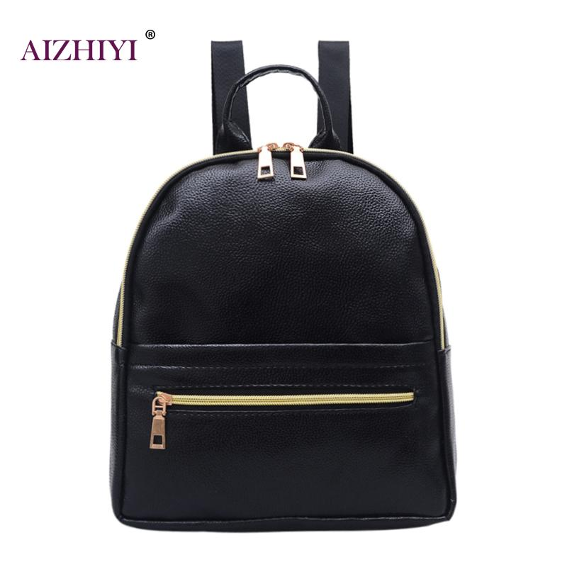 Fashion Women Backpack High Quality PU Leather Backpacks for Teenage Girls Female School Shoulder Bag Bagpack mochila Bags стоимость