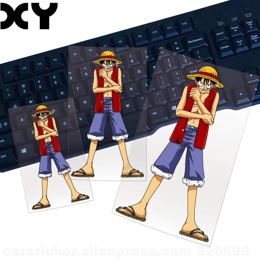 Quality Funny Vinyl Wrap Reflective Tape One Piece Luffy