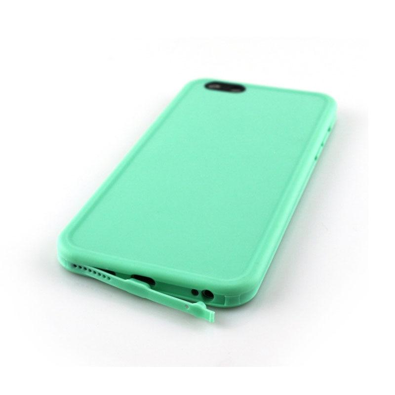 Iphone üçün rəngli dalğıc suya davamlı telefon kassası SE 5 6 - Cib telefonu aksesuarları və hissələri - Fotoqrafiya 5