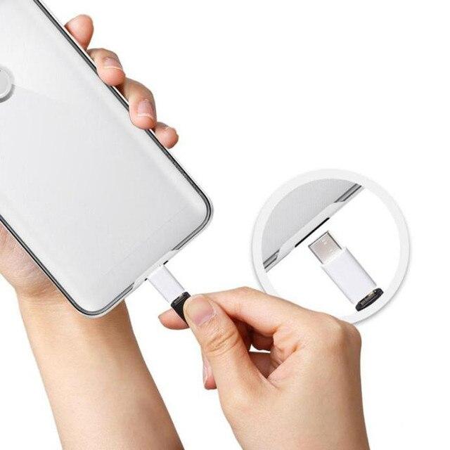 1pc Micro USB żeńska do typu c męski Adapter do Huawei Samsung Xiaomi type-c interfejs linia danych konwerter ładowania #30
