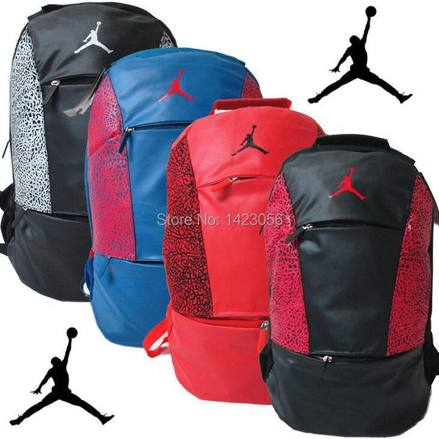 Jordan backpack school bags for teenagers men s travel bags backpacks candy  color bag