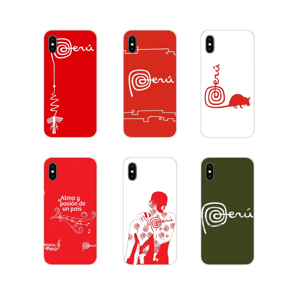 Accessories Phone Cases Covers For Apple iPhone X XR XS MAX 4 4S 5 5S 5C SE 6 6S 7 8 Plus ipod touch 5 6 marca peru