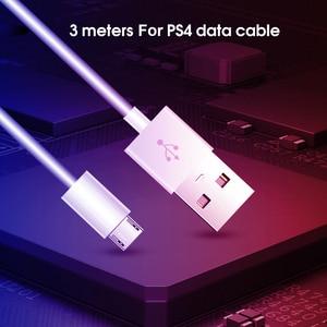 Image 5 - 3m بيانات كابل لسوني PS4 كابل شحن تحكم بيانات ألعاب مقابض كابل الشاحن ل ذراع تحكم أكس بوكس واحد لعبة اكسسوارات