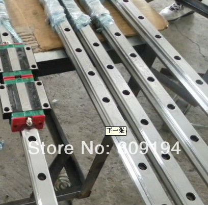 750mm HGR15 HIWIN  linear guide rail From taiwan hiwin linear guide rail hgr15 from taiwan to 1000mm