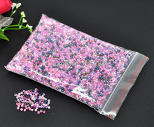 Free Shipping 50g Wholesales Hot New Creation DIY Seed Beads Spacer Round Shape Mixed Glass Charms Jewelry Component  2mm
