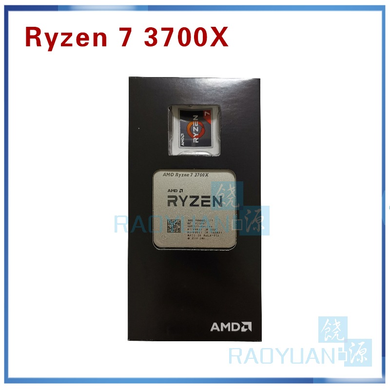 New AMD Ryzen 7 3700X R7 3700X 3.6 GHz 7NM L3=32M 100-000000071 Eight-Core Sinteen-Thread CPU Processor  Socket AM4