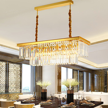 Gold or Black New Crystal Modern Led Pendant Lights For Living Room Dining Room Kitchen Room Bar etc Home Deco Pendant Lamp new nordic led pendant lights lamp crystal metal pendant lamp modern lighting fixtures for dining room living room bar art deco