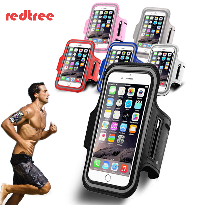 Waterproof Sports Running Armband ARM band Phone Case for Xiaomi redmi 4 3s note 3 4 4x  ...