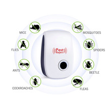 Ultrasonic Insect Repellent Electronic Indoor Rodent Mosquito Killer Household