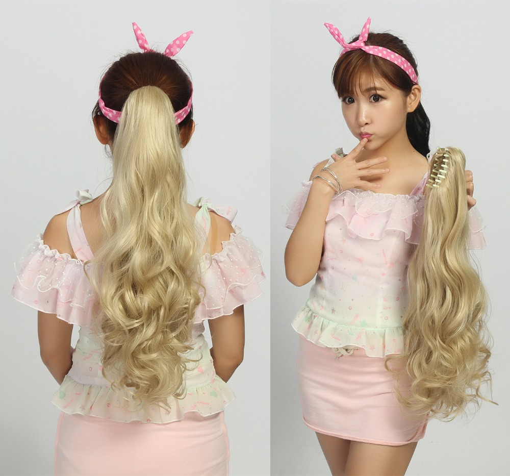 Superb Compare Prices On Long Pony Tail Online Shopping Buy Low Price Hairstyles For Women Draintrainus