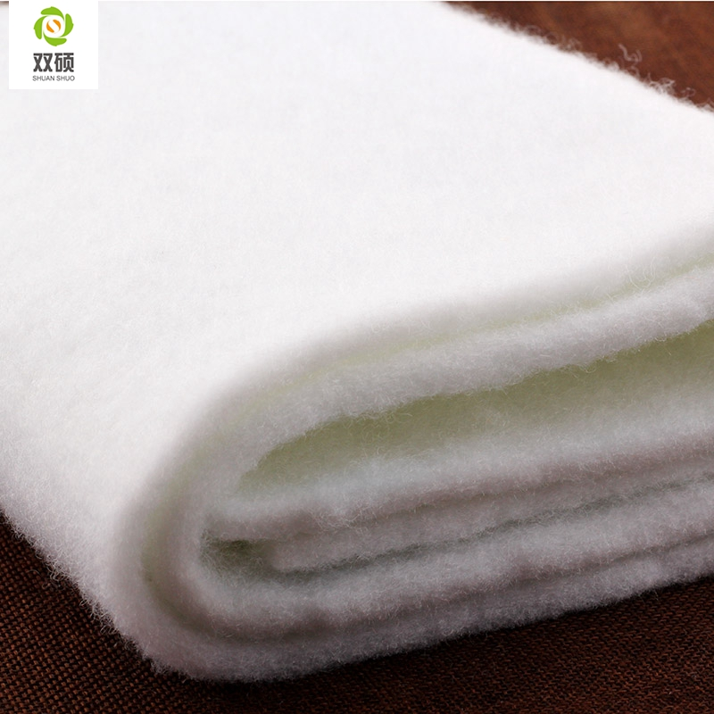 Thickness 5MM Cotton thread without glue, Dedicated to hand-made lining cotton , acupuncture cotton  100*50CM/PCS