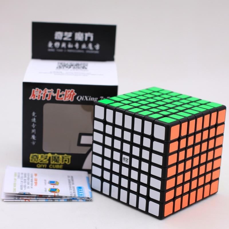 Original Hot Sale Qiyi QiXing 7x7x7 Cube puzzle Qixing S stickerless 7x7 Magic Puzzle MoFangGe Speed Cube Educational kids toys
