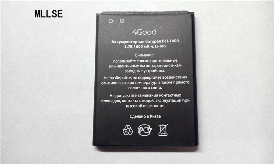 Аккумулятор MLLSE 1600 мАч для телефона 4Good S450m 4G|battery for|1600mah batterybattery for phone | АлиЭкспресс