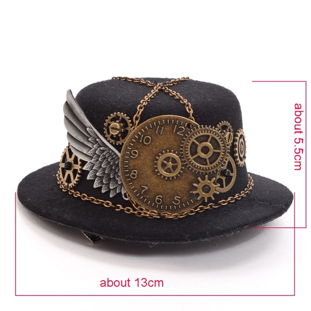 Шляпка в стиле стимпанк вариант 2 2