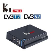 MECOOL KII Pro Android Tv Box DVB-T2&DVB-S2 Amlogic S905D Quad Core 2GB/16GB Ram Android 7.1 Tv Box K2 PRO BT4.0 4K H.265 Player