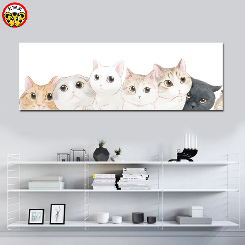 Mewarnai Dengan Nomor Gambar Dengan Angka Cat Lukisan Dengan Angka