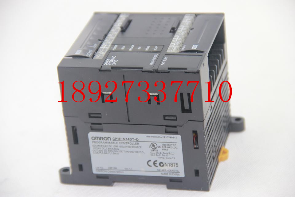[ZOB] New original OMRON Omron programmable logic controller relay CP1E-N14DT-D new original programmable logic controller cp1e n60dr a rc full replace cp1e n60dr a 100 240v