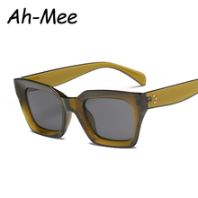 Square Cat Eye Sunglasses Women Retro Brand Design Vintage S