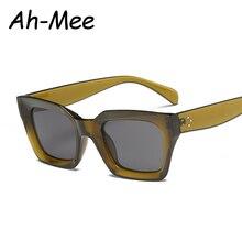 Gafas de sol cuadradas de ojo de gato, gafas de sol Retro de marca de diseño Vintage para mujer, gafas de mujer UV400