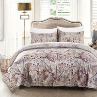 2017 Autumnal New Arrival Jacquard Silk 2 3pcs Bedding Set High Quality Duvet Cover Sets