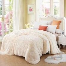 Modern Spring/Autumn Warm Blanket Beige Grey Pink Blue Plush Blanket/Patio Custom Made