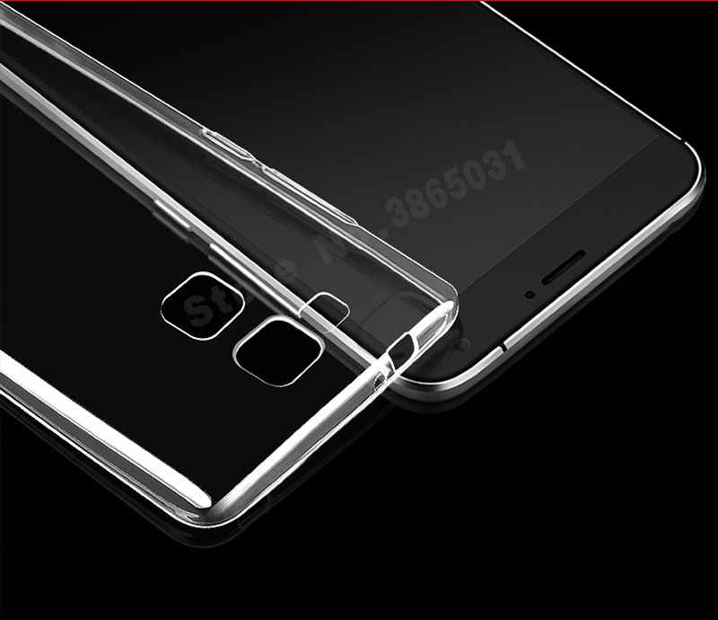 Per Huawei Mate 7 Caso Huawei Mate 7 Cassa Del Telefono Della Copertura Del Silicone di TPU Trasparente Per Huawei Mate 7 Mate7 MT7-TL10 MT7-L09