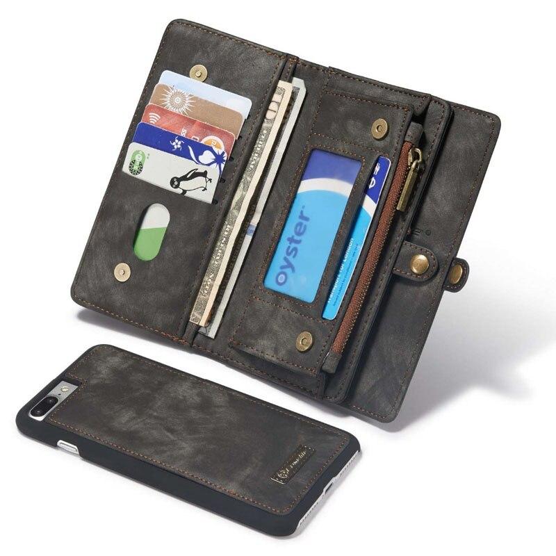 Цена за Новый Подлинный Кожаный Бумажник, Сотовый Телефон Сумка Крышка Чехол Для Apple, iPhone 6 6 s 6 s Плюс Для iphone 7 7 Plus Делам 4 Цветов