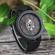 Luxury Brand BOBO BIRD Men Watch Luminous Wooden Watches Gen