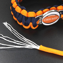 купить NCAA Washington Stat Outdoor Camping Braided Rescue Paracord Bracelet Parachute Cord Emergency Rope Survival Bracelets For Women по цене 450.75 рублей