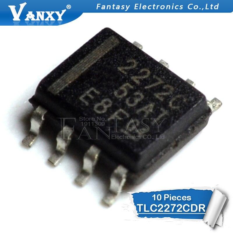 10PCS TLC2272CDR SOP8 TLC2272 SOP 2272C SOP-8 SMD New And Original IC