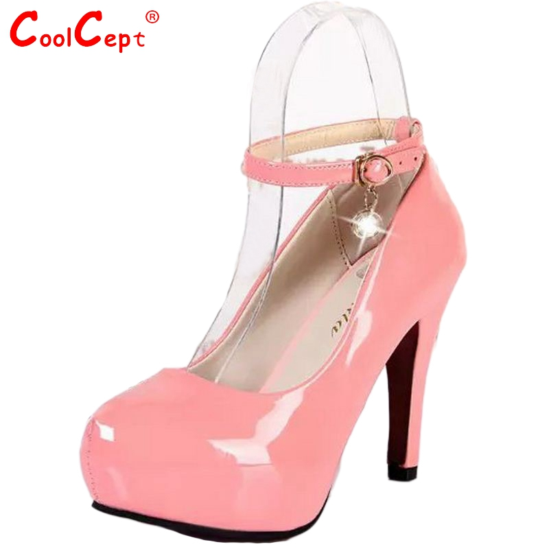 font b Woman b font Buckle Shoes New Arrival Spring Autumn Sexy Ankle Strap High