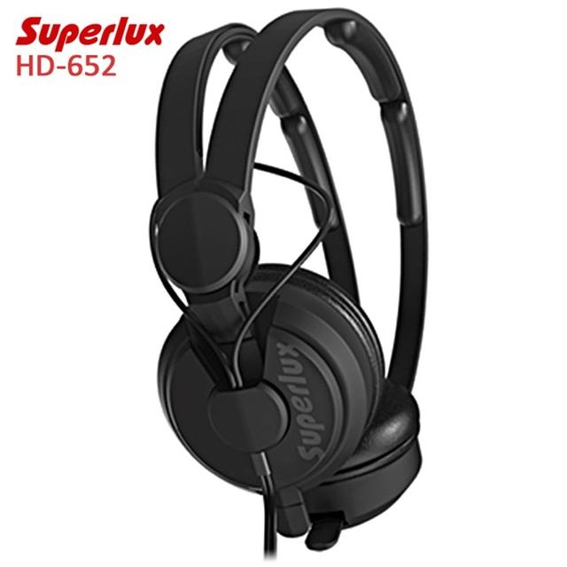 2016 Nuevos Auriculares Superlux HD-562 Wired Omnibearing Handband Auricular Música Auriculares de Cancelación de Ruido de Vigilancia Para Teléfonos